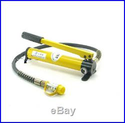 0.35L Hydraulic Hand Pump Pack Hose Coupler 60 MPa For Jack Hydraulic Clamp