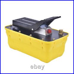 10T Air Pedal Hydraulic Pump For Auto Body Frame Machines And Shop Presses