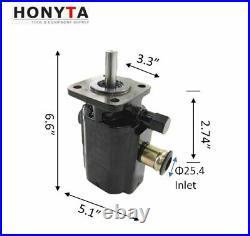11GPM Hydraulic Gear Pump 2 Stage Hi-Lo Pump for Log Splitter, New
