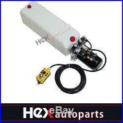 13 Quart Reservoir Double Acting Hydraulic Pump for Dumpt Trailers KTI -12 VDC