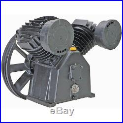 145 PSI TWIN CYLINDER AIR COMPRESSOR PUMP for 5 HP MOTOR New No Tax 0$ FEDX