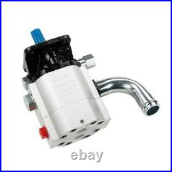 15 GPM 2-Stage Hydraulic Pump for Dirty Hand Tools Gas Powered Log Splitters