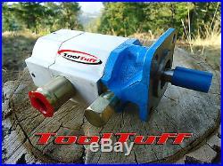 16 GPM Hydraulic Log Splitter Pump, 2 Stage Hi Lo Gear Pump, FOR CANADA