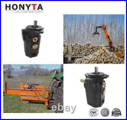 22 GPM Hydraulic 2 Stage Hi-Lo log splitter gear pump for woody equipment, NEW
