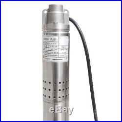 220V Stainless Steel 2 Submersible Bore Pump Deep Well Pump for Farm Irrigation