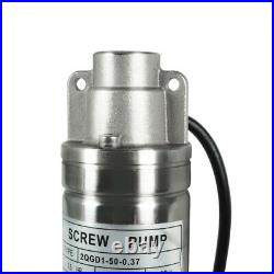 240V Stainless Steel 2 Submersible Bore Pump Deep Well Pump for Farm Irrigation