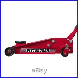 3 Ton Steel Heavy Duty Floor Jack withRapid Pump Great For Shop/Garage/Home Use