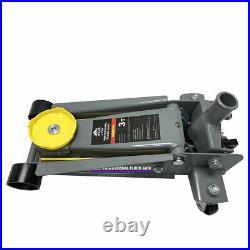 3 Ton single pump fast lifting hydraulic floor jack for car