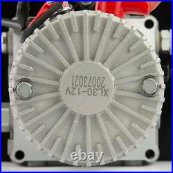 5.3 Gallon Single-Acting Hydraulic Pump 12V for Wood Splitter Dump Bed Tow Plow