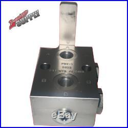 #6 SAE Selector Valve for KTI Hydraulic Pump