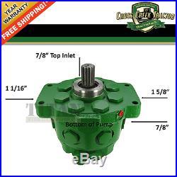 AR90459 NEW Hydraulic Pump For John Deere 2510 3010 4010 5010 2520 3020 1830+