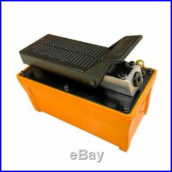 Air Foot Pedal Hydraulic Pump For Auto Body Frame Machines And Shop Presses