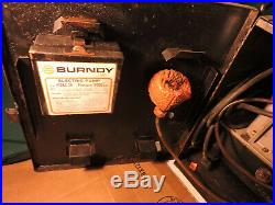 Burndy Electric Hydraulic Pump Y10AC-3H 10K PSI for Crimpers, Cutters, Cylinders