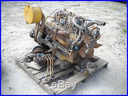 Cat T70C/Continental Red Seal F227 Gas Engine with Hydraulic Pump for Parts Only