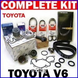Complete Timing Belt Water Pump Kit Tensioner Thermostat Belt for Toyota 3.4L/V6