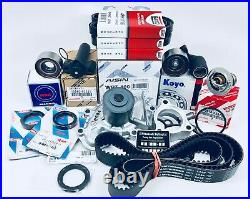 Complete Timing Belt Water Pump Kit Thermostat + Hyd Tens. (FOR Toyota 3.4L/V6)