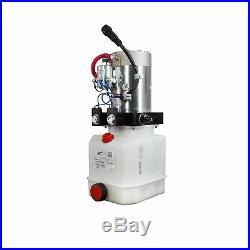 Double Acting Hydraulic Pump For Dump Trailers KTI 24VDC 3 Quart Reservoir