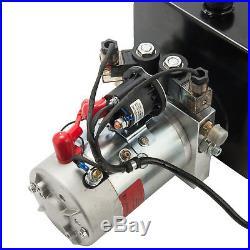 Double Acting Hydraulic Pump for Dump Trailers 12 VDC 15 Quart Reservoir