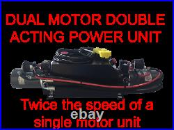 Dual Motor Double Acting Unit for Dump Trailers 2500psi