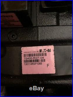 Eaton Hydraulic Pump S/N 72400-RGT-04 Vermeer Part #235621001 For Vermeer D16X20