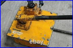 Enerpac P464 Hydraulic Pump 4 Way for use with Double Acting Cylinders