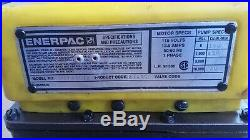 Enerpac PER1401B 10,000 PSI Hydraulic Pump 115v, For Parts or Repair NOT Working