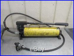 Enerpac Ultima P80 Hydraulic Hand Pump for Jack Porta Power 10,000 PSI with Hose