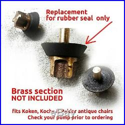 FIVE New Hydraulic Pump Valve Seal for most Antique Barber Chairs