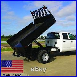 FLAT BED TRUCK DUMP KIT for 8 to 12 Ft Flat Bed Trucks 5 Ton Cap Made in USA