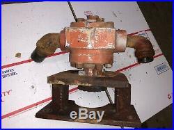 Farmall 300 350 Live Hydraulic Pump, Front Crankshaft Mount For Bucket Loader