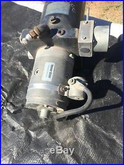 Fenner Stone 1185-AC 12v Hydraulic Pump Motor Tank Assy for RV