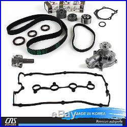 For Hyundai Kia 2.4L Timing Belt Kit Water Pump Hydraulic Tensioner Valve Cover