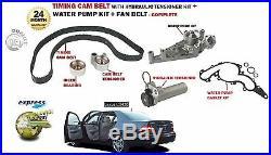 For Lexus Ls430 2000- Hydraulic Tensioner Timing Cam Belt Kit + Water Pump Kit