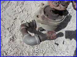 Ford 8N Tractor front external hydraulic pump & mounting bracket for loader