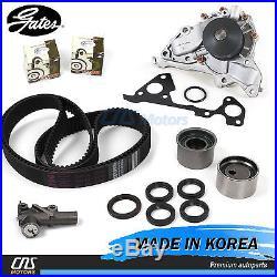 Gates JAPAN Timing Belt Kit Hydraulic Tensioner Water Pump For Hyundai Kia 3.5L