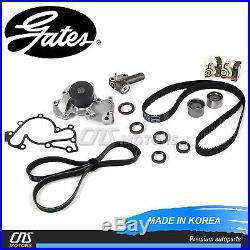 Gates Timing Belt Kit Water Pump Hydraulic Tensioner V-Belt for Hyundai Kia 2.7L