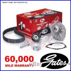 Gates Timing Cam Belt Water Pump Kit For Nissan Almera Micra Note Qashqai Tiida