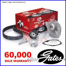 Gates Timing Cam Belt Water Pump Kit For Opel Astra Speedster Zafira A