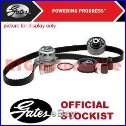 Gates Timing Cam Belt Water Pump Kit For Vw Caddy 1.6 2.0 Diesel (2010-)