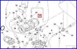 Gehl Hydraulic Pump Tandem for 6625/SL6625 Skid Loaders (127548)