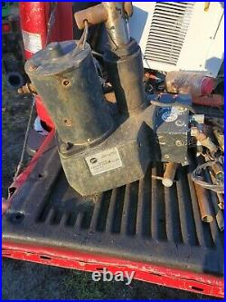 Genuine Fisher Snow Plow Electric Hydraulic solenoid PAK Motor PUMP for truck