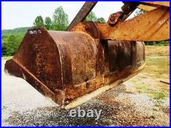 Good Case 680E Construction King Tractor Backhoe Bucket For Sale 72 x 38