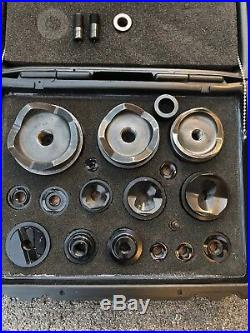Greenlee 1/2- 4 Hydraulic Knockout Punches And Dies Set For 746 Ram & 767 Pump
