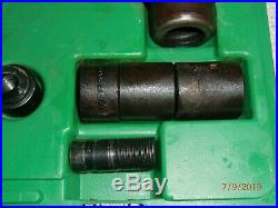 Greenlee 7306SB knockout set for 1/2 to 2 Hydraulic pump 767, 746 ram VGC