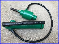 Greenlee 767 Hydraulic Hand Pump For knockout punches Ram