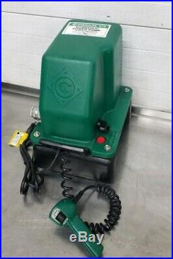 Greenlee 975 Hydraulic Power Pump For Your Bender Ram Cylinder Press Nice