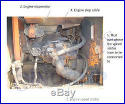 Hitachi EX200-2 Conversion Kit for Excavator Hydraulic Pump Regulator Parts