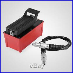 Hydraulic Air Foot Pump 1.5L For Auto Body Frame Machines Safety Standards