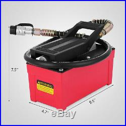 Hydraulic Air Foot Pump 10 000 PSI For Auto Body Frame Machines New