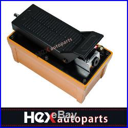 Hydraulic Air Foot Pump 10,000PSI For Auto Body Frame Machines and Pulling Post